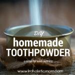 Homemade Toothpaste - Boholistic Mom