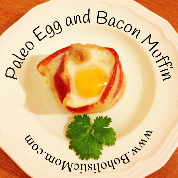 Paleo Egg and Bacon Muffin
