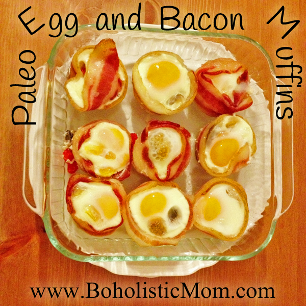 Paleo Egg and Bacon Muffins
