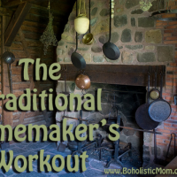 Do a Traditional Homemaker's Workout without a Gym