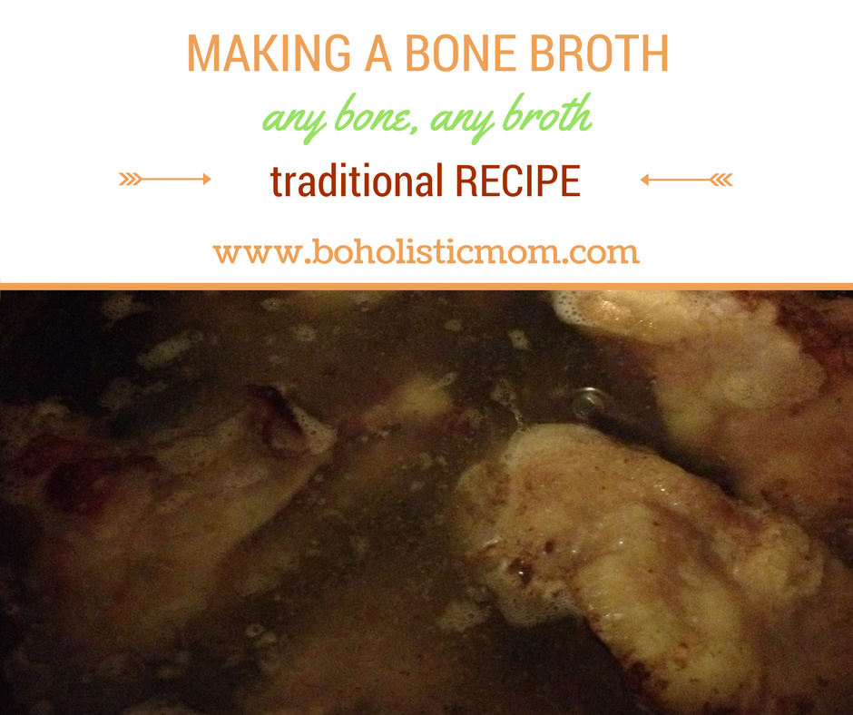 Traditional Bone Broth Recipe