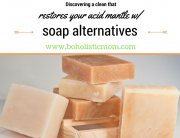 Can you get clean without soap? - Boholistic Mom