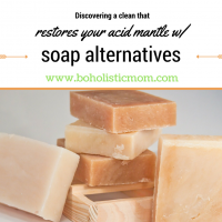 Soap Alternatives that keep you clean