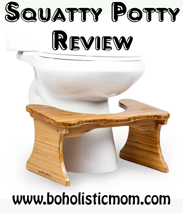 Squatty Potty Review | Boholistic Mom
