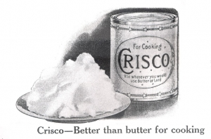 The Crisco Campaign | Boholistic Mom