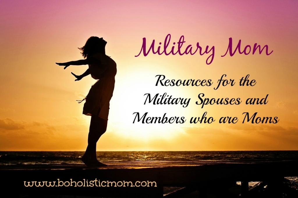 Military Mom   Boholistic Mom