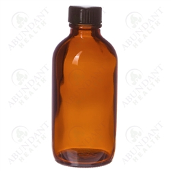Abundant Health Amber Bottle | Boholistic Mom