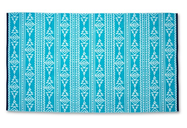 Aztec Beach Towel | Boholistic Mom