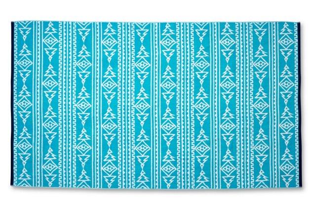 Aztec Beach Towel | Boholistic Mom
