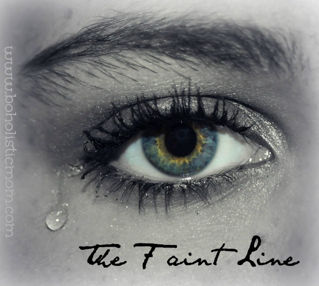 The Faint Line | Boholistic Mom