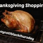 Thanksgiving Shopping | Boholistic Mom