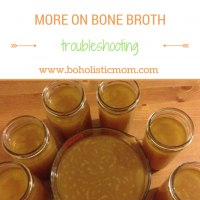 More about Delicious Bone Broth – Troubleshooting