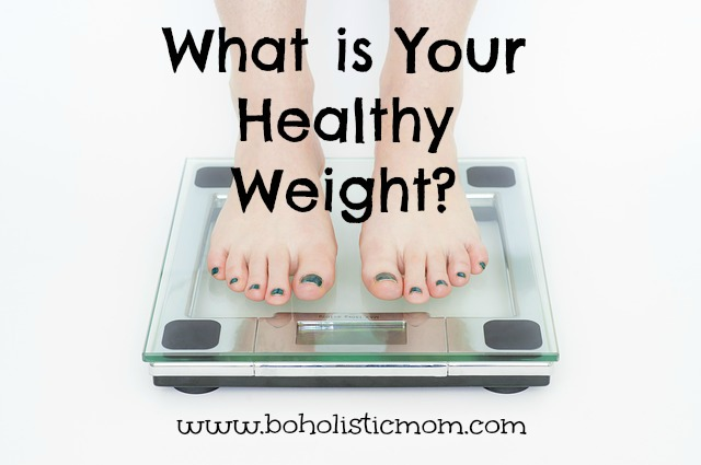 What is Your Healthy Weight | BoholisticMom.com