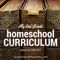 2nd Grade Homeschool Curriculum for 2016