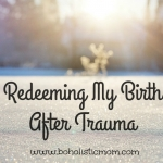 birth after trauma