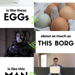 Borg Eggs - Boholistic Mom