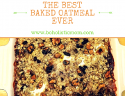 The BEST Baked Oatmeal