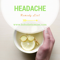 Headache Remedy List for Moms