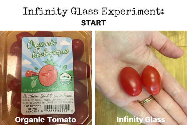 infinity glass experiment