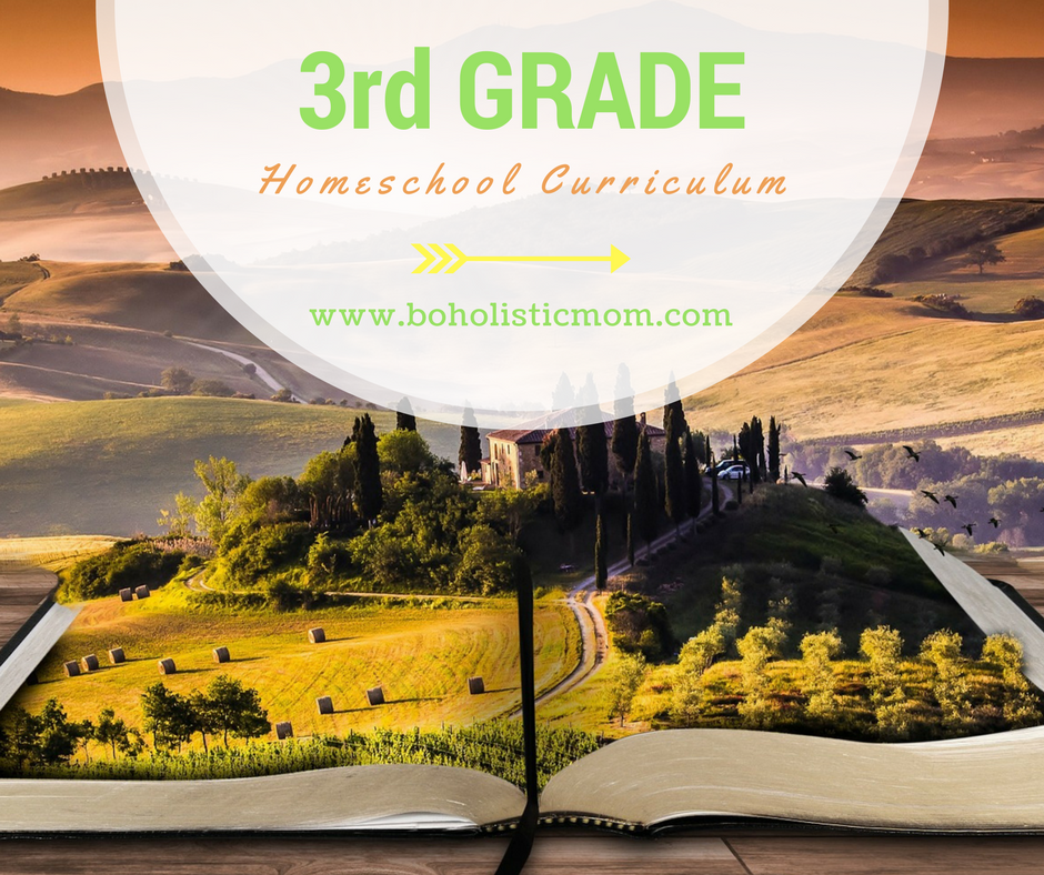 Homeschool curriculum for 3rd graders