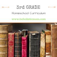 3rd Grade Homeschool Curriculum for 2017
