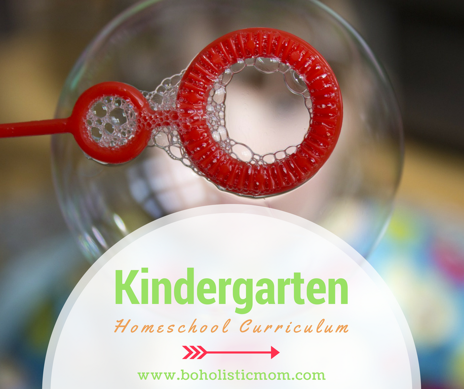 Curriculum Options for Kindergarteners