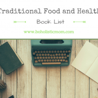 Reading List for Traditional Food and Health