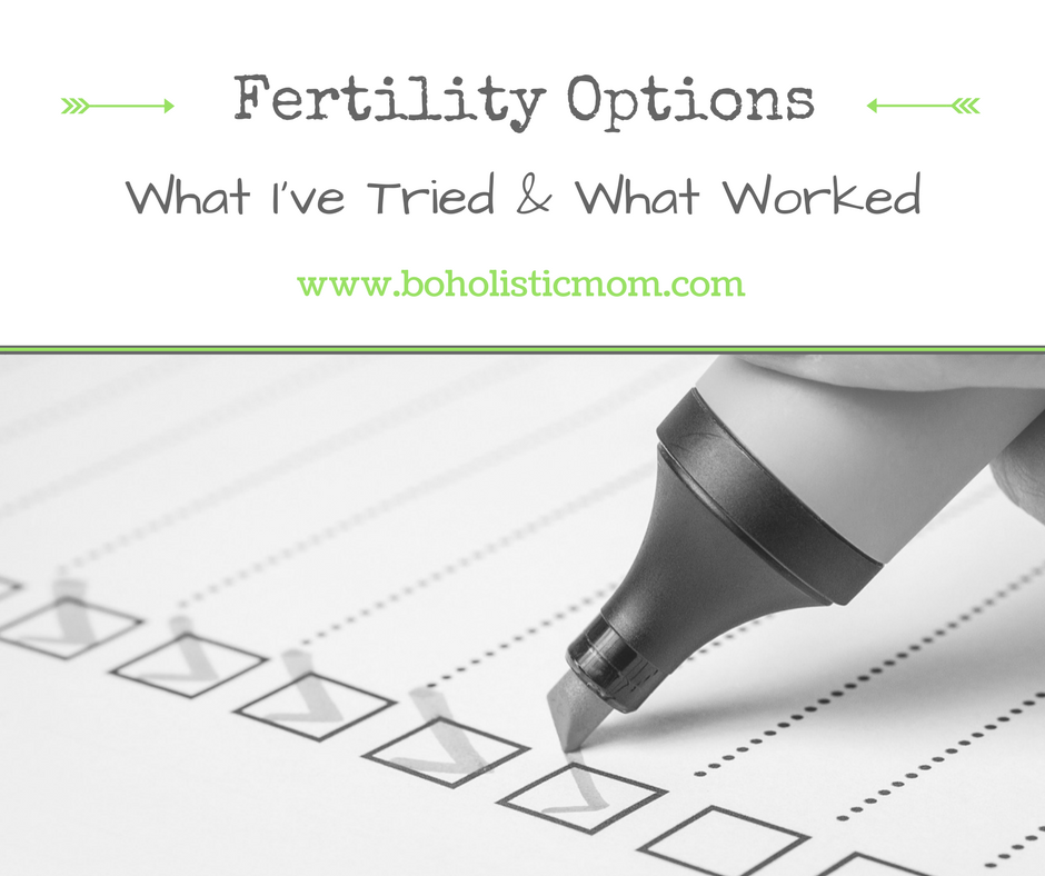 Options for Infertility