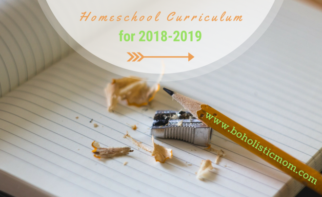 1st Grade Homeschool Curriculum for 2018-2019